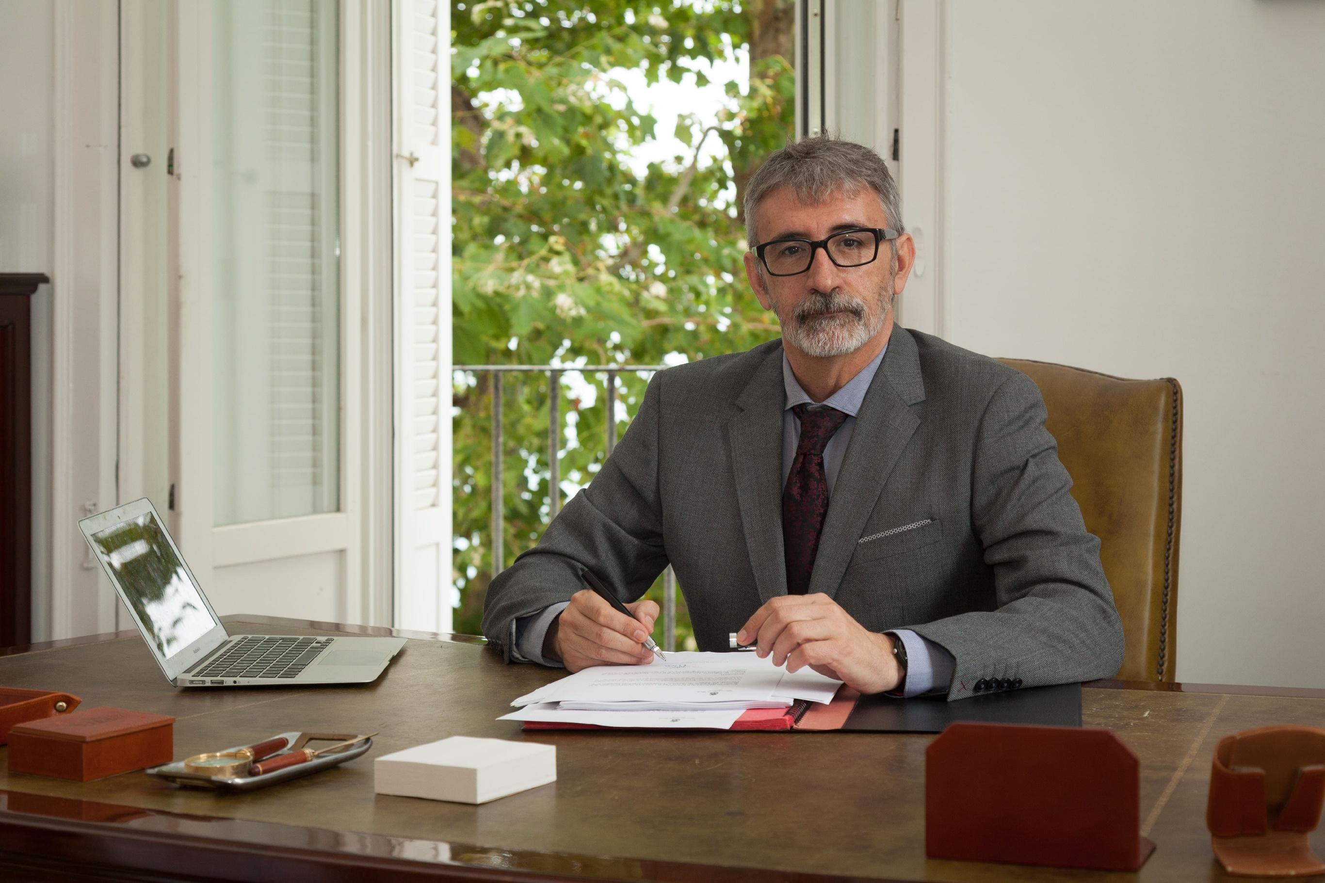 Francisco Piniella, rector de la UCA: